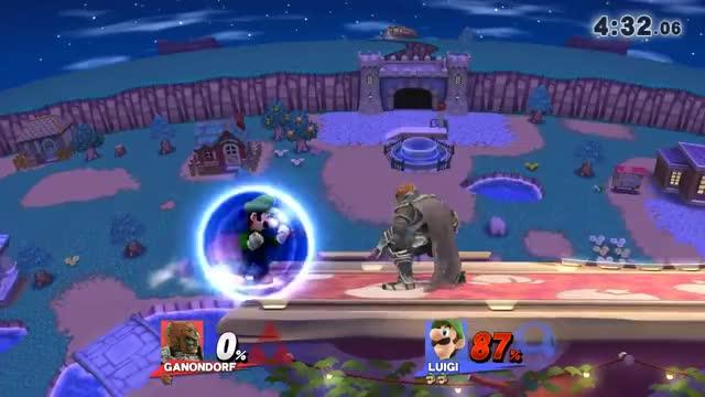 Luigi's wild ride!