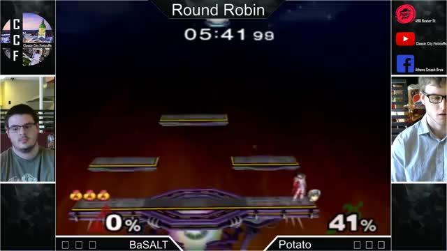 Zelda finisher for the JV4