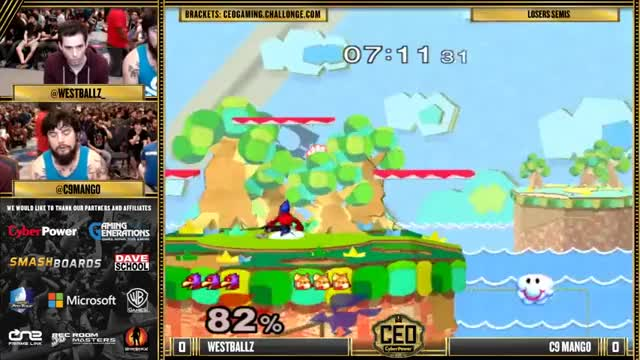 Clean 7-second zero-to-death on Mango by Westballz on Yoshi's Story