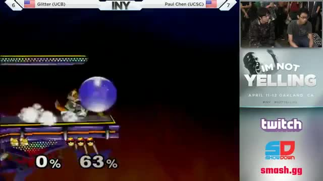 Paul Chen with some Falcon style in The Melee Games at INY