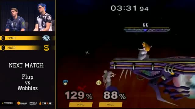 PPMD dash dancing across Battlefield and back