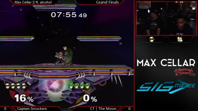 [Marth] The Moon destroys Smuckers' first stock.