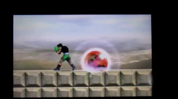 Little Mac can hit you with the back of his Glove after he missed his KO. WTF