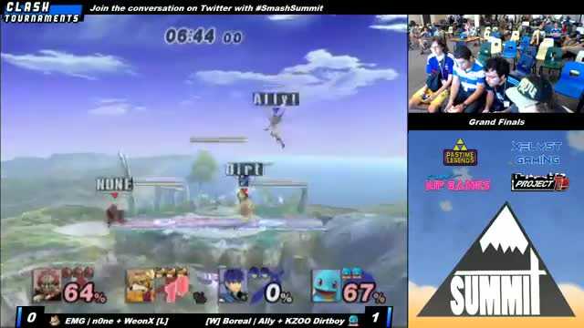 Mysterious things happen in doubles grand finals