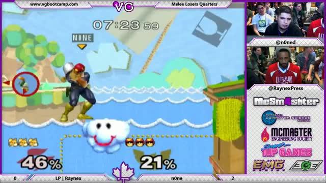 n0ne's Falcon breaks the game, then breaks Raynex