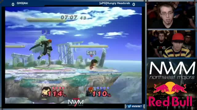 a most learned dorf and his cape : Hungry Headcrab vs Aki @ NWM7
