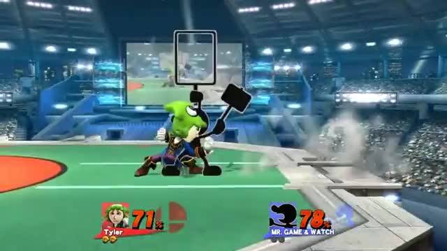 [Wii U/3DS] So apparently the kick is mightier than the 9.
