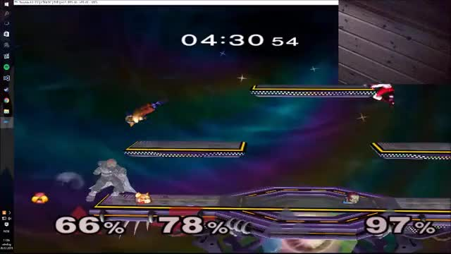 how not to edgeguard a bot Ganon