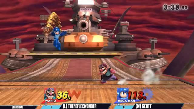 Megaman tries to infiltrate the Halberd