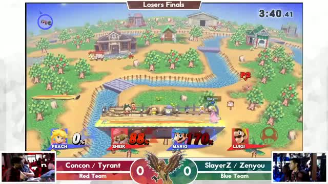 SlayerZ and Zenyou claim Smashville for the Mushroom Kingdom