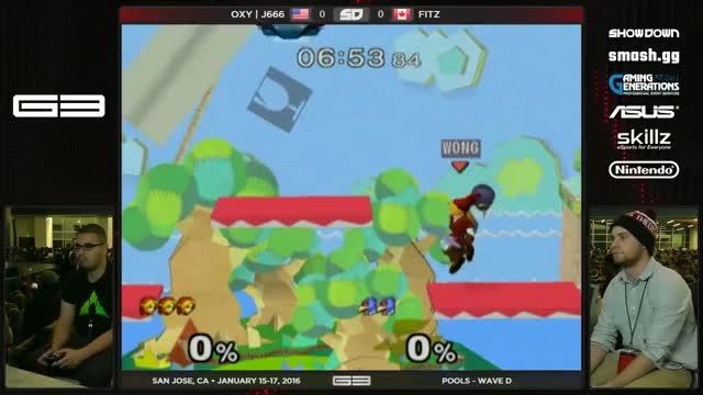 J666 demonstrating what makes Link's Nair so jank