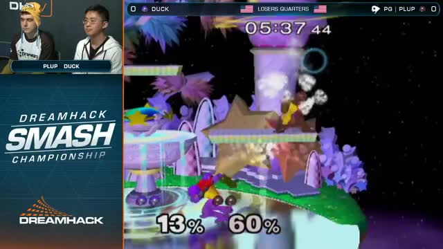 Plup swags walks on Duck