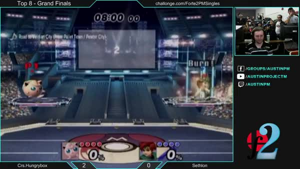 Sethlon with a magical punish on Hungrybox at Forte 2 grand finals