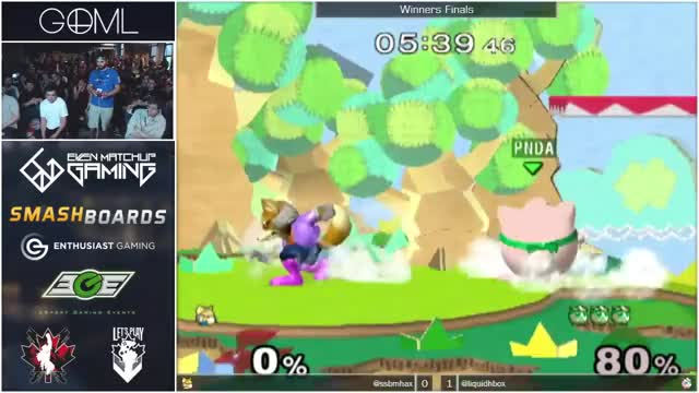 0-Rest & the most intense pausing tech skill ever : Hax vs Hungrybox @ GOML 2015