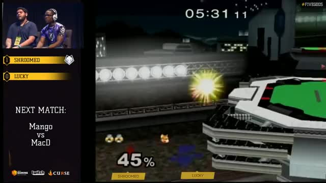 Lucky pulls out a wonky stock on shroomed