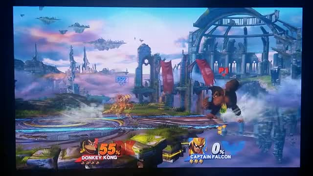Dong takes Falcon for a wild ride