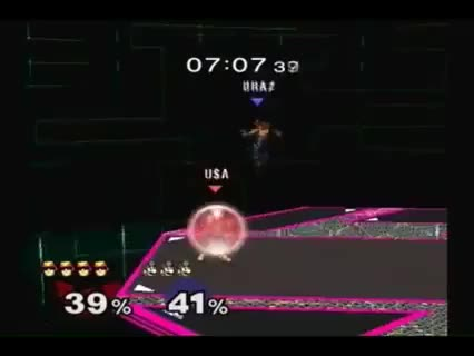 And they said the turn around falcon punch isn't in melee