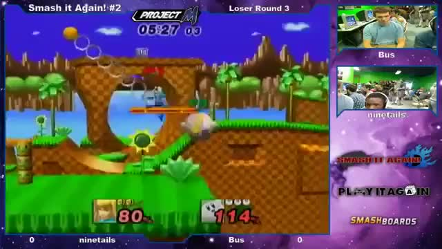 Kirby with the ZSS tech.