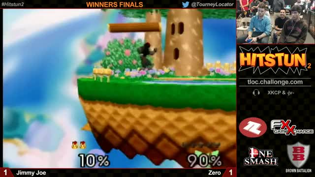 My friend Zero getting a 4 stock lead vs. JimmyJoe at his 1st real tournament
