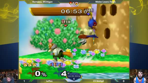Mango brutal and efficient on Leffen