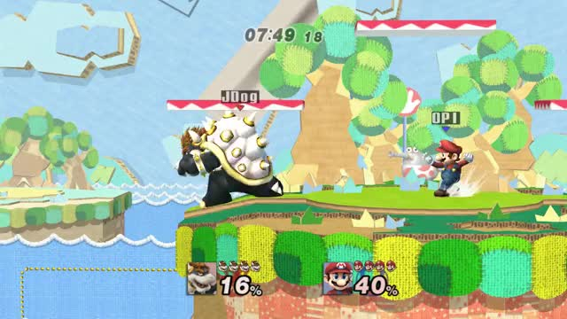 Bowser wins this time, Mario!