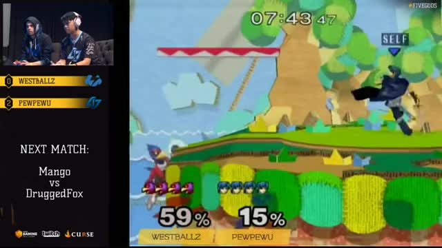 27% With One Falco Aerial