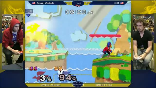 SFAT with the randiest combo on Westballz @ TBH5