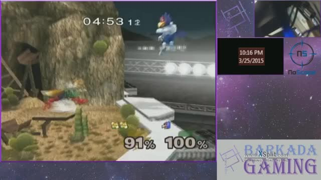 Fox's running up smash is too OP