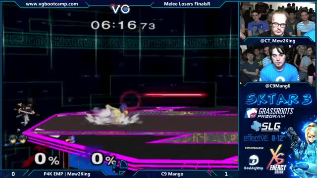 M2K with a lightning quick 0-death on Mang0
