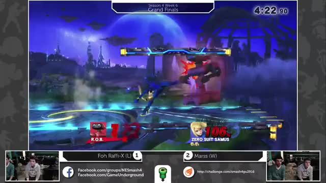 Marss has no Chill (AKA How to Edgeguard a ROB) (GFY)