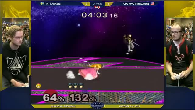 I am a sucker for good recoveries (Mew2King vs. Armada TBH5) (Marth) (BONUS: item catch)