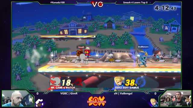VaBengal coverts off a n-air punish