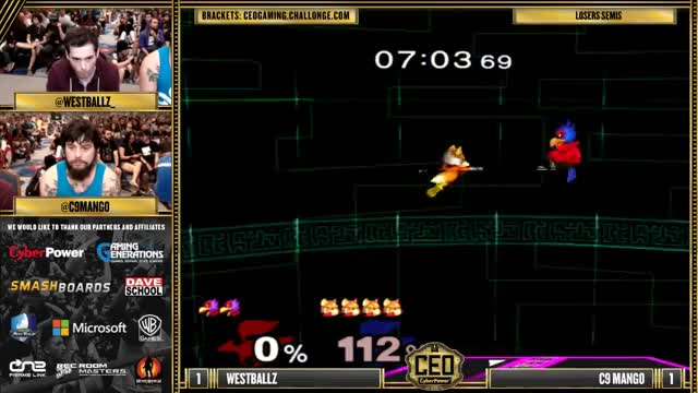 Westballz with a 'welcome to melee' combo