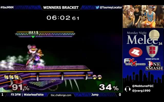 "Hax$ playing Falcon?!? Wait, that's an ""M""…"