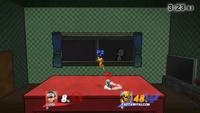 Very floaty Luigi death combo