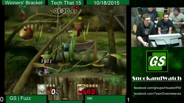 The most intentional collision box punish of all time