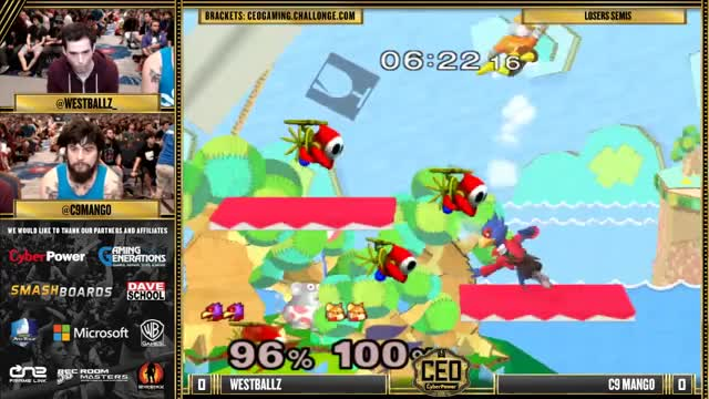 Dirty edgeguard from Westballz