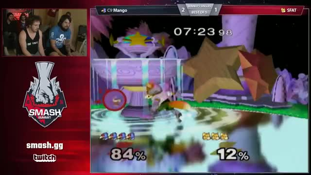 Mango with the creative combo vs SFAT