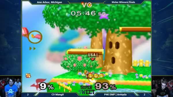 Mango gets denied by Armada