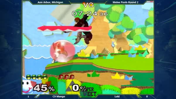 [Falcon] Another brutal Mango combo.