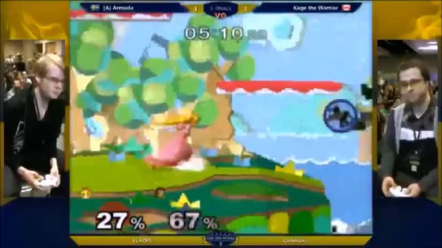 Armada keeps Kage offstage for 15 seconds