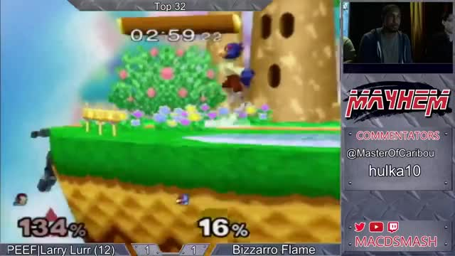 Bizzarro Flame's Sick Comeback against Larry Lurr @ Mayhem June 2015
