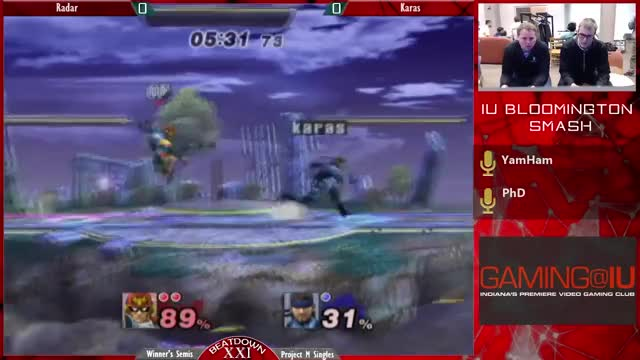 Falcon Ends Game 1 with Style