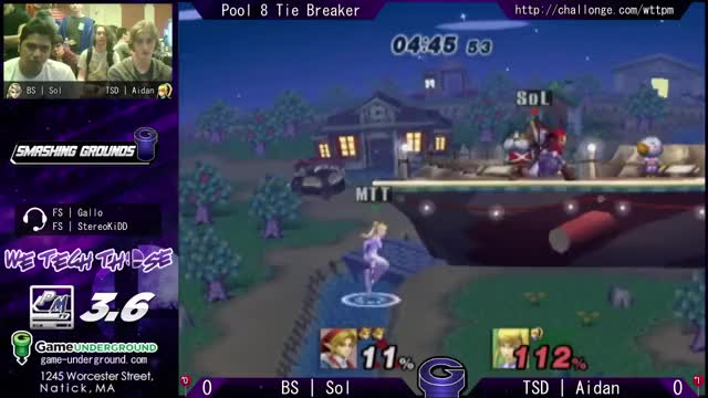 I heard we were posting footstool combos. 11% to death at We Tech Those