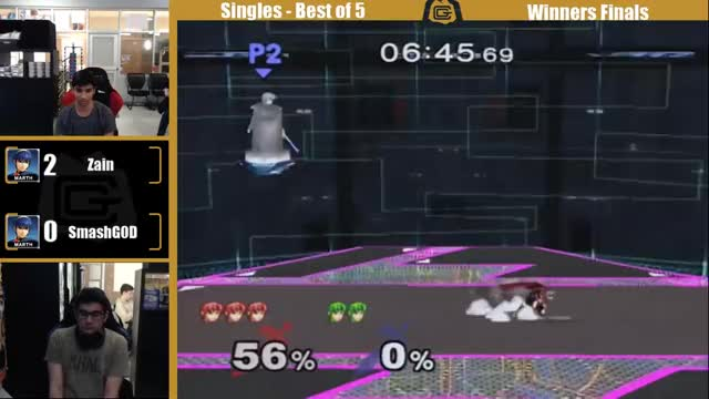 smashgod evens it up clean and clever