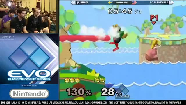 [Melee] Armada cements his lead on Silentwolf with a meaty peach punish
