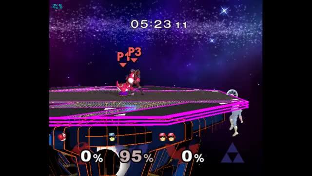 Yoshi-Falcon Wombo Combo