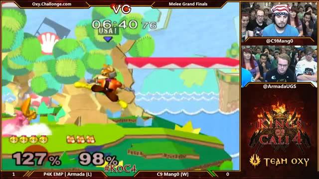 Armada goes for a hard read on Mango (Grand Finals KoC4)