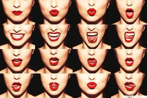 Как сделать губы для селфи