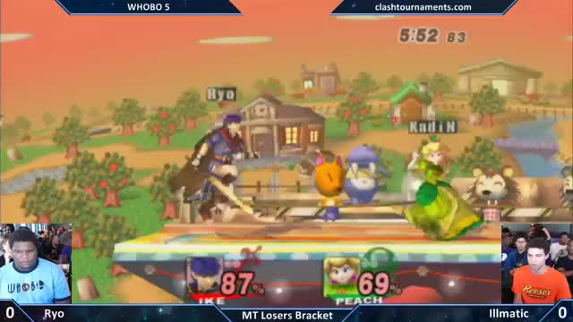 Ryo (Ike) Edgeguards Illmatic (Peach)
